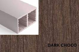 Lamele Duro Dark Choco - 40x80mm