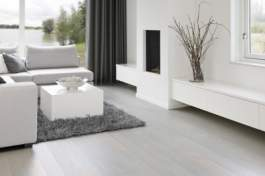 Parchet stratificat Solidfloor Pearl White